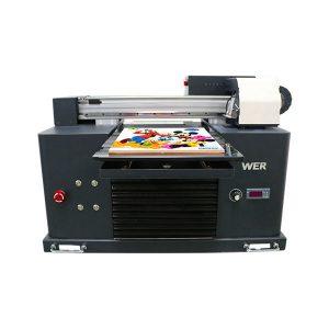 Tuŝa ekrano inteligenta viciganta inkaĵan pvc plasta identiga karto printilo a3