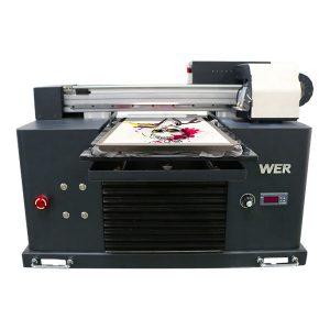 Ok koloroj malmultekosta prezo cifereca 3d-ĉemizilo-printilo por vestaĵoj, tekstilaj plataj printiloj por vendo