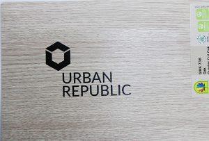 Logo-presado ĉe lignaj materialoj de WER-D4880UV 2