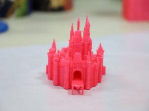 Solvo por unu-haltiga 3D-printado