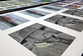 Foto-papero presita per impresora ekologia solvilo de 1,8 m (6 futoj) WER-ES1802 2
