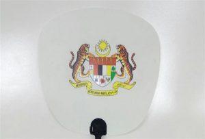 Plasta Fan-specimeno presita de A1-grandeco uv printilo 6090UV