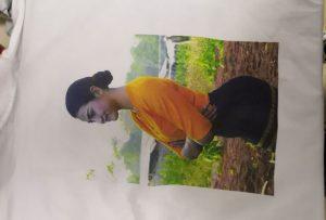 Ĉemizoj presante specimenon por birma kliento de WER-EP6090T-presilo