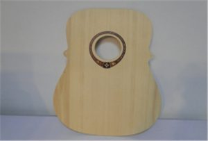 Ligna gitara ekzemplo de A2-grandeca uv-presilo WER-DD4290UV